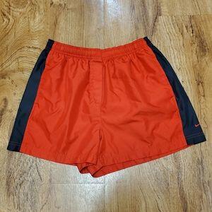 Womans Red & Black Nike Running Shorts Medium